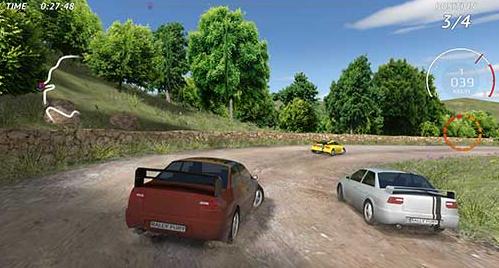 لعبة سباق السيارات rally fury extreme racing apk