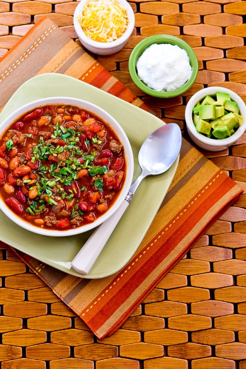 Easy Taco Soup from A Pinch of Salt Lake - Kalyn's Kitchen