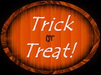 Trick or Treat Schild 1
