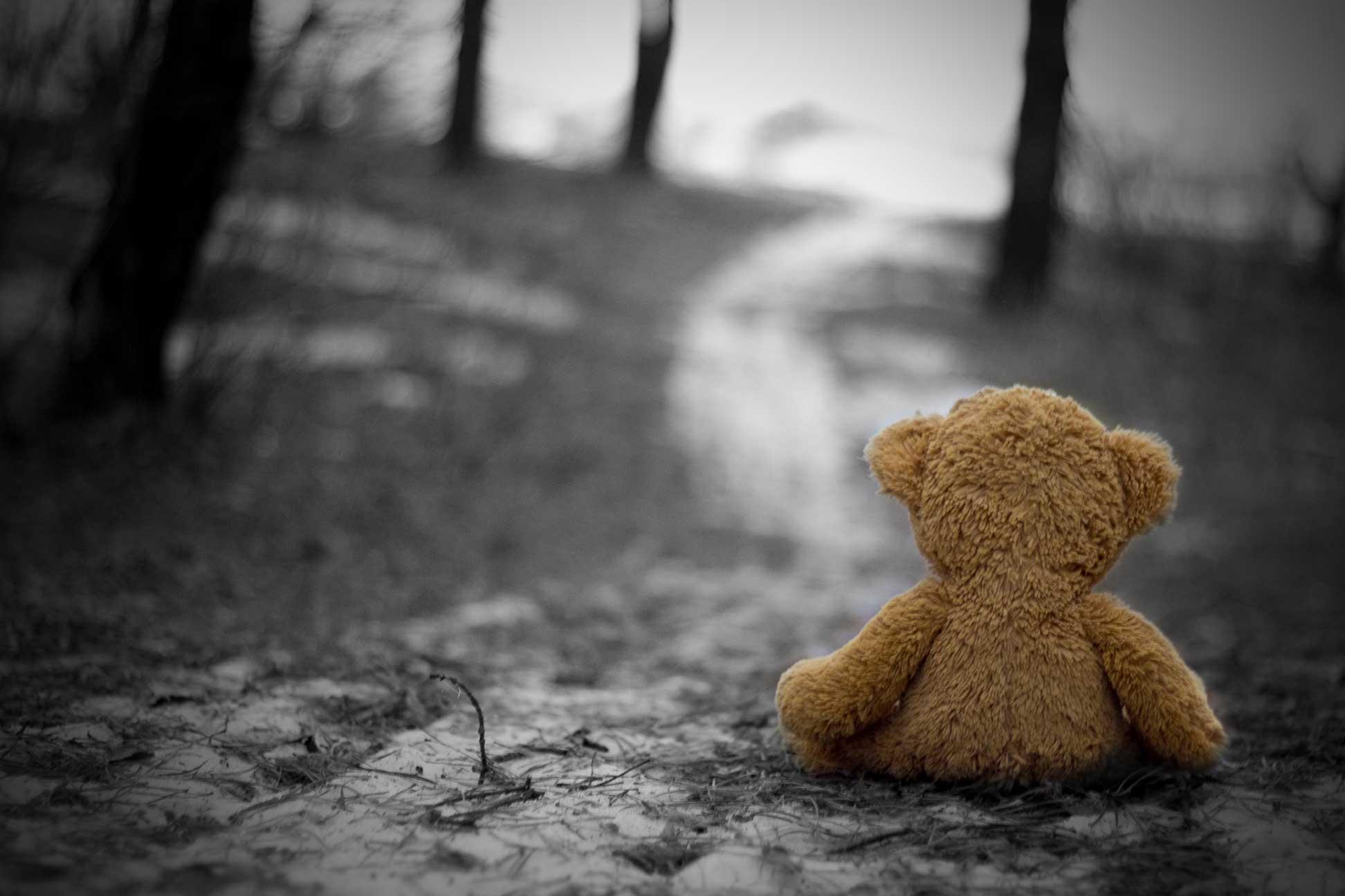 صورة حزينة خلفية للكمبيوتر