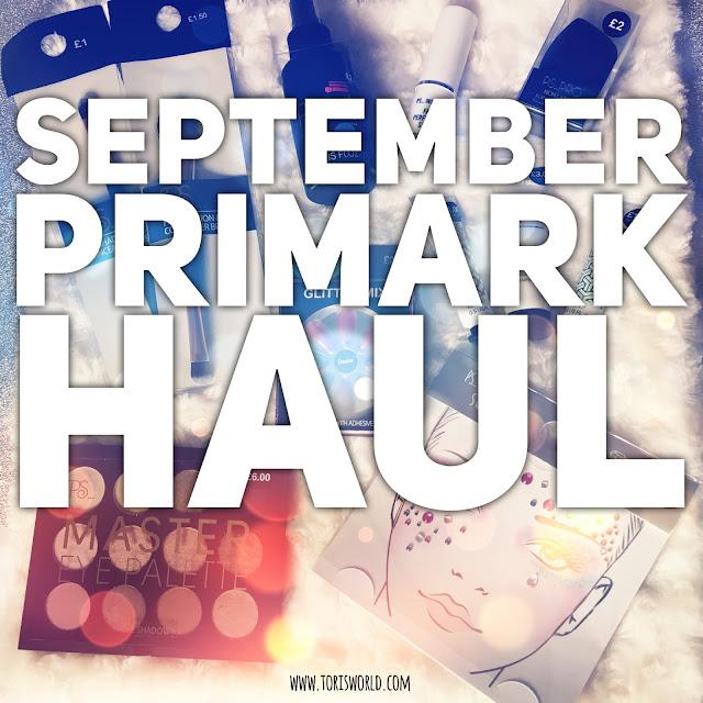 September Primark Haul #lbloggers #haul #primark