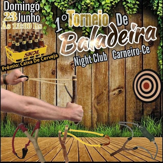 """Vem aí o """"1° Torneio de Tiros de Baladeira"""" em Carneiro/CE"""