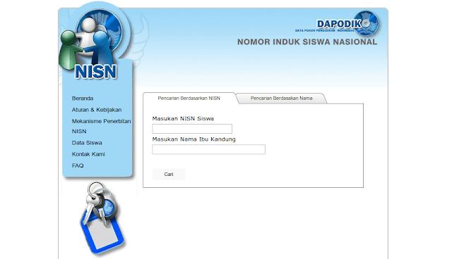 Cara Mendapatkan Nomer Induk Siswa Nasional (NISN) Secara Online1