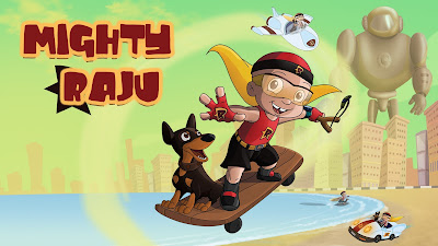 MIGHTY RAJU THE FIRST MOVIE