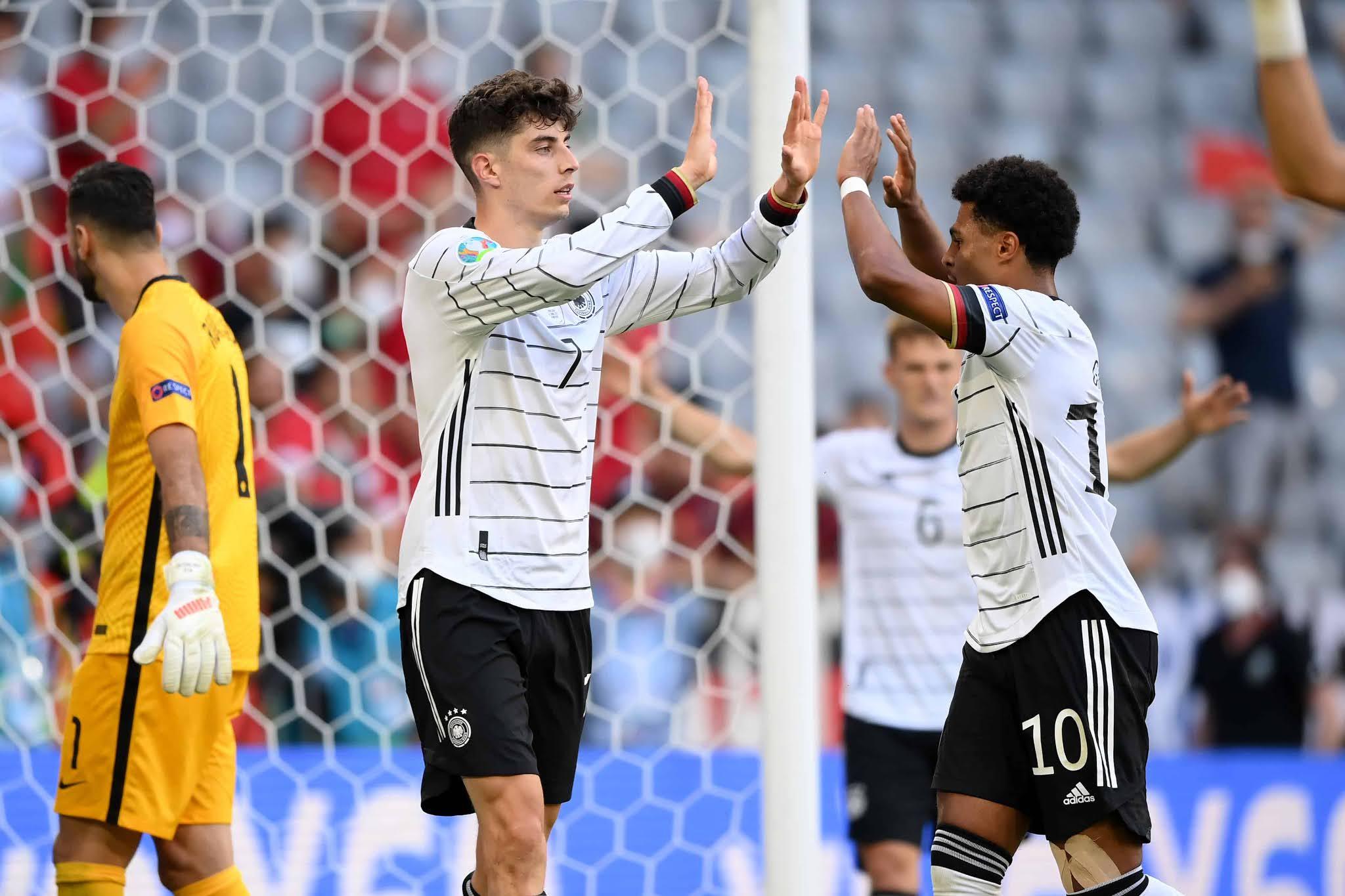 Alemania recuperó la memoria y derrotó al Portugal de Cristiano Ronaldo por la Eurocopa