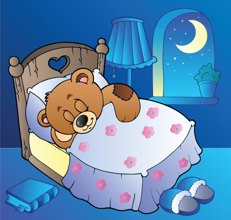 Bedtime teddy bear