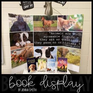 Animal Friends Book Display