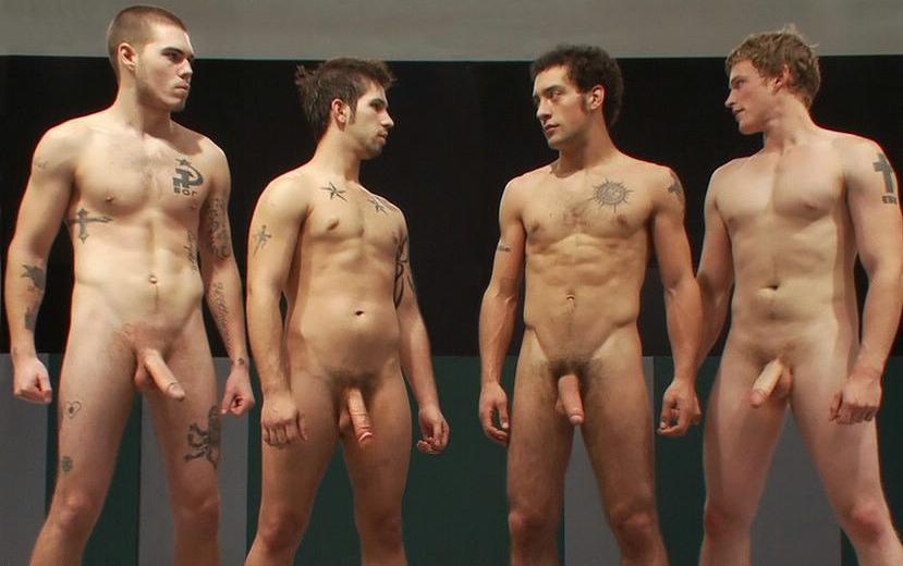 Men Jogging Nude-5569
