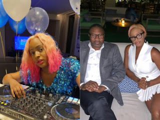 DJ Cuppy Teaches Her Father How To Use Smartphone