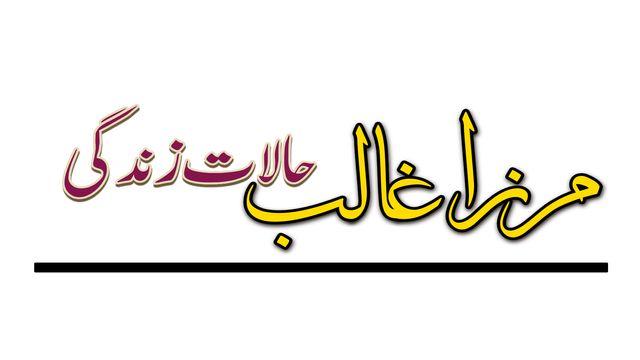 مرزا اسداللہ خان غالب کی حالات زندگی