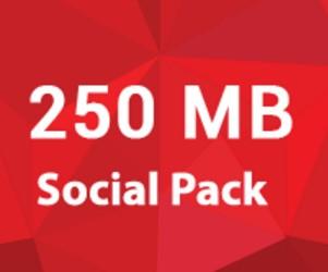 Robi Social Pack 250 MB 10 TK