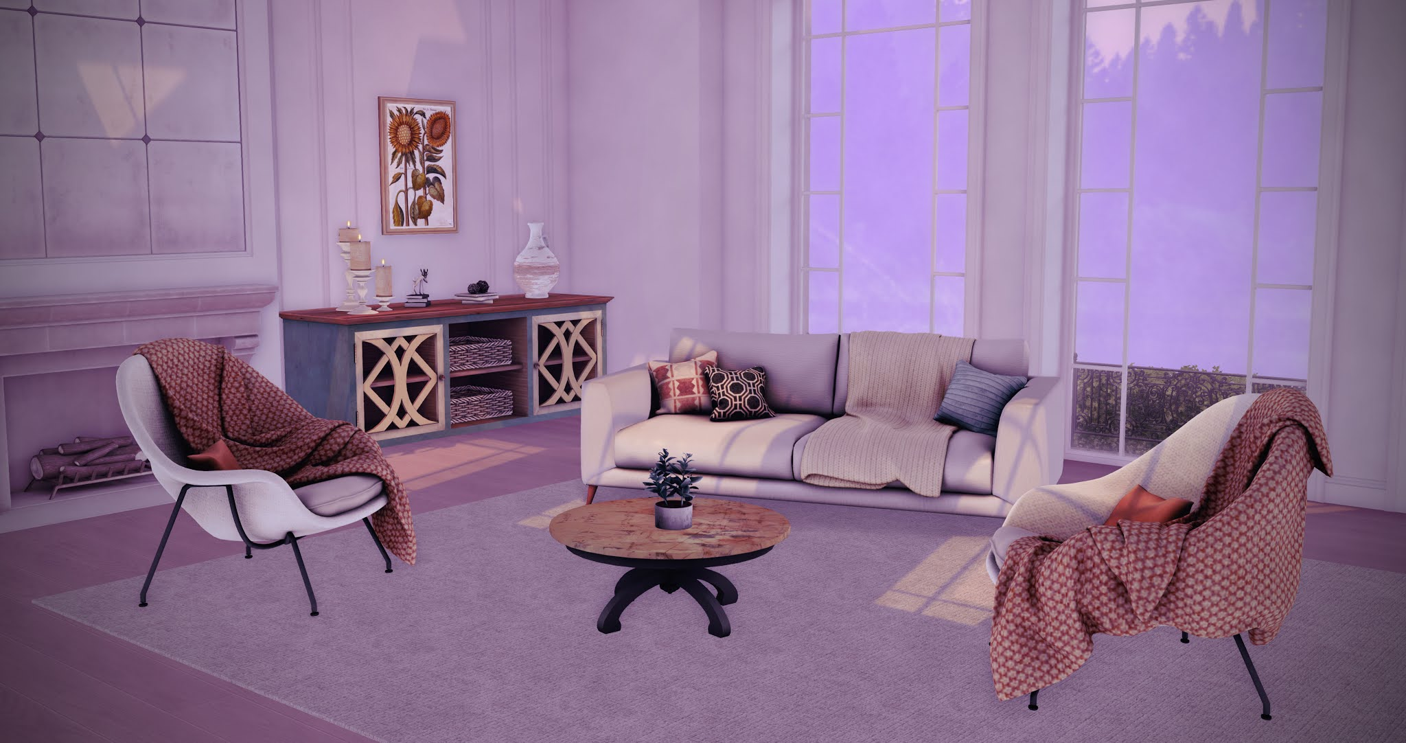 The Florence Living Room