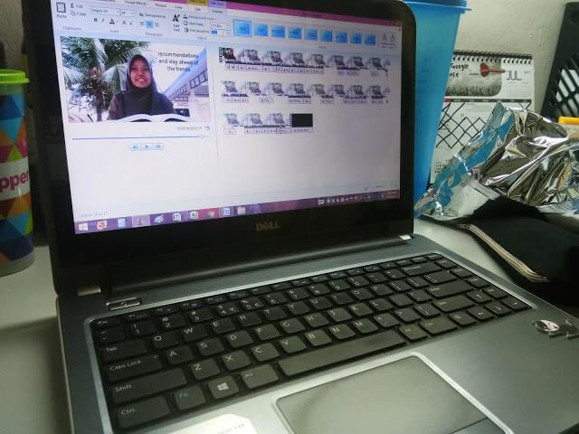 Video assignment pelajar universiti