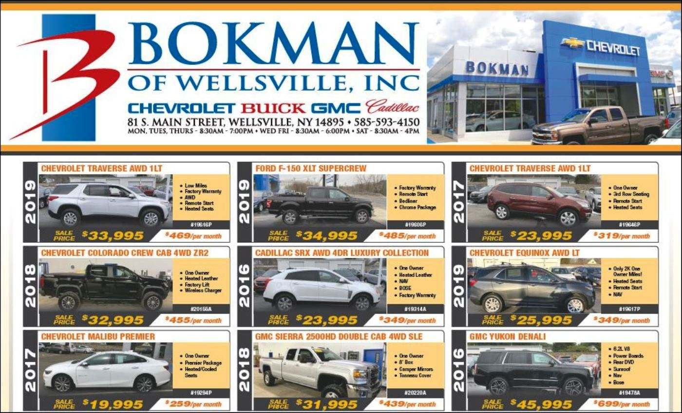 Bokman Of Wellsville