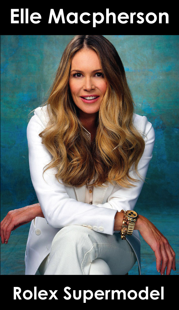 Elle Macpherson Rolex Supermodel
