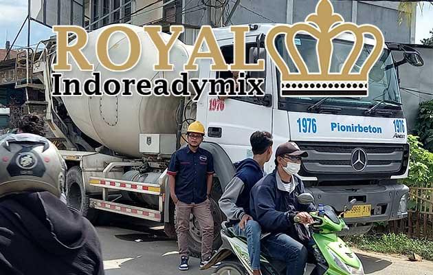 Harga Beton Tiga Roda - Jual Ready Mix Beton Cor Pionir Beton
