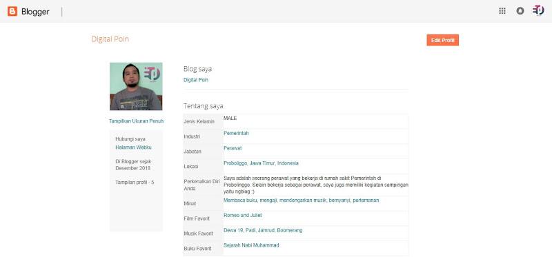 Cara Mengganti Profil Google+ Ke Profil Blogger