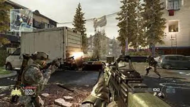 تحميل لعبة call of duty modern warfare 2
