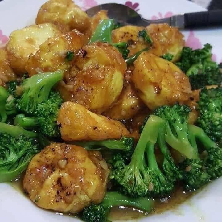 resepi tauhu goreng brokoli