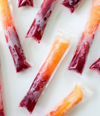 Delicious Raspberry Peach Pops Recipe