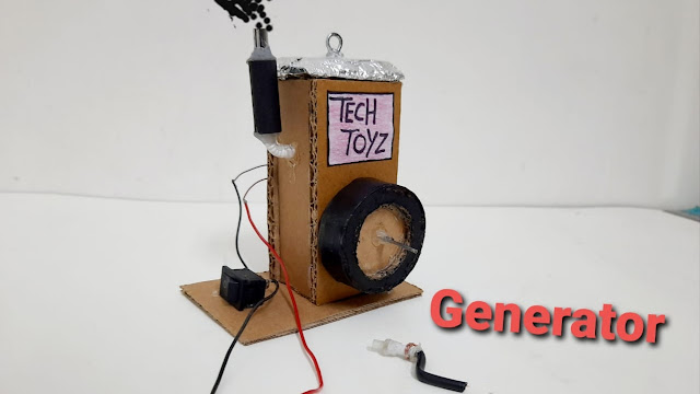 how to make generator at home