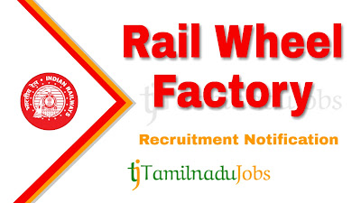 RWF recruitment notification 2019, govt jobs in India, central govt jobs, govt jobs for ITI,