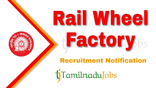 RWF Recruitment notification of 2019 - for Trade Apprentice - 192 post
