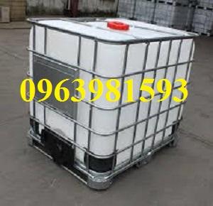 Tank nhựa, bồn đựng hóa chất, tank nhựa 1000 lít giá rẻ