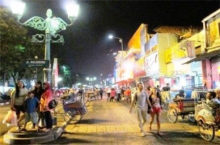 Wisata Jalan Malioboro Yogyakarta