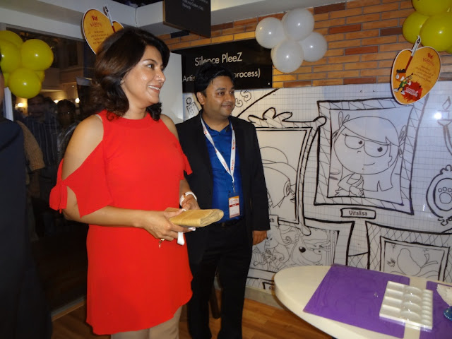 Image I - (L-R) Actress Divya Seth and Saumitra Prasad - Chief Marketing Officer of Kokuyo Camlin at the launch of 'Camlin Art & Craft Studio' Delhi, NCR
