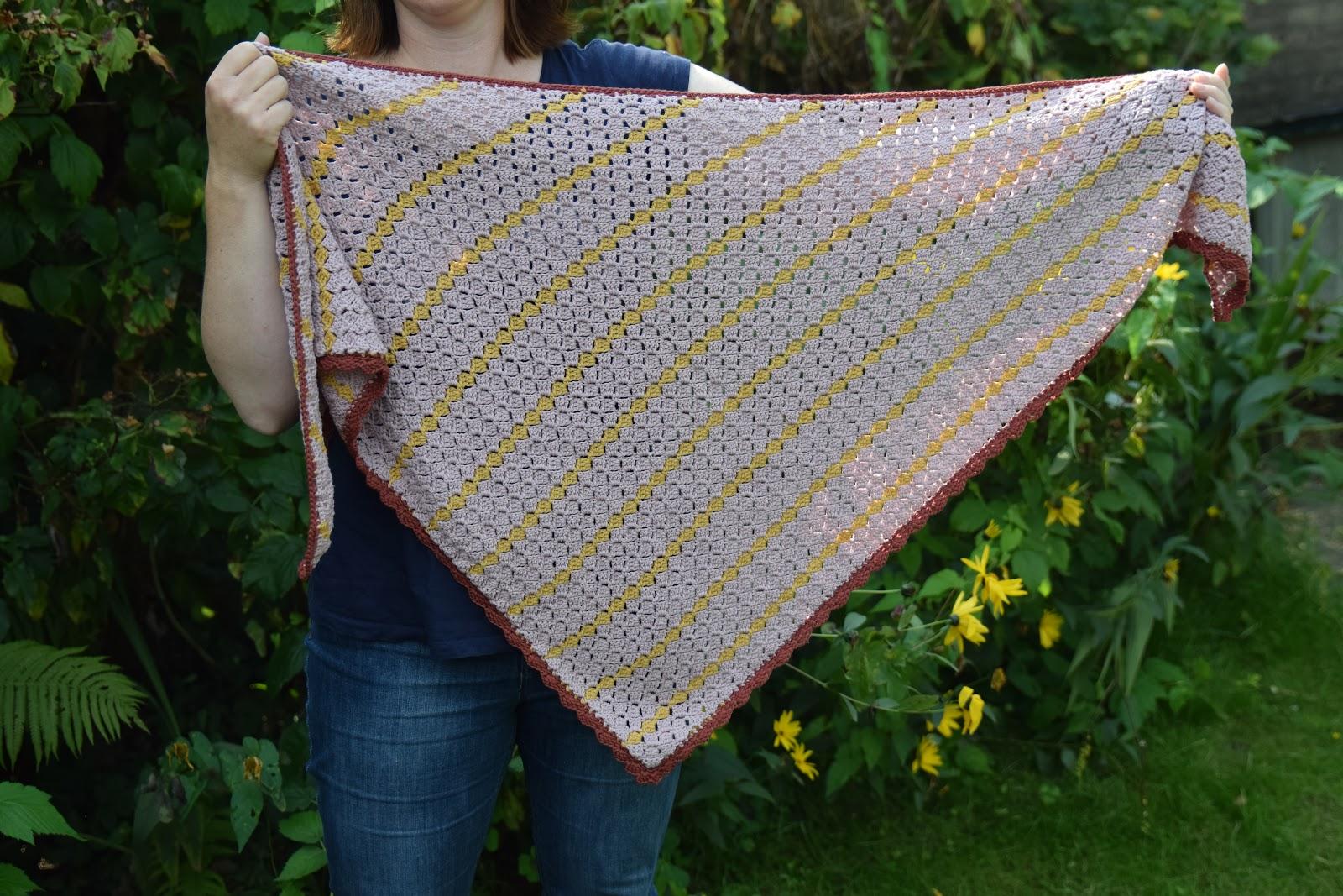 Madebyleen Blog Over Haken Crochet Blog Patroon Omslagdoek