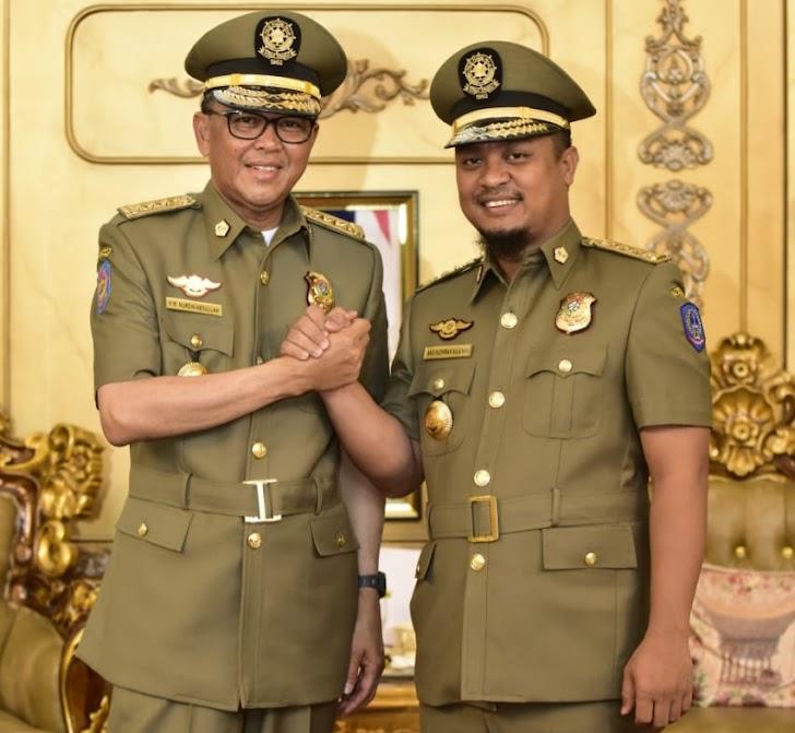 Nurdin Abdullah dan Andi Sudirman Benahi Tatakelola Pemerintahan di Sulsel