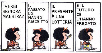 Ma Il Cielo è Sempre Più Blu Mafalda E La Politica