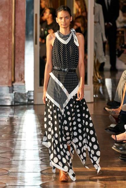 Модное платье весна-лето 2020 43
