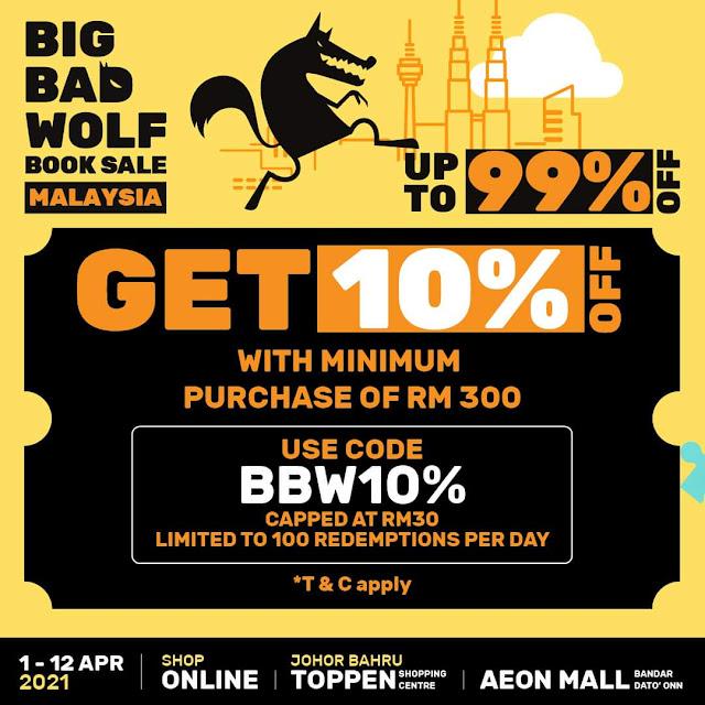 2021 BIG BAD WOLF (BBW) SALES DATANG LAGI