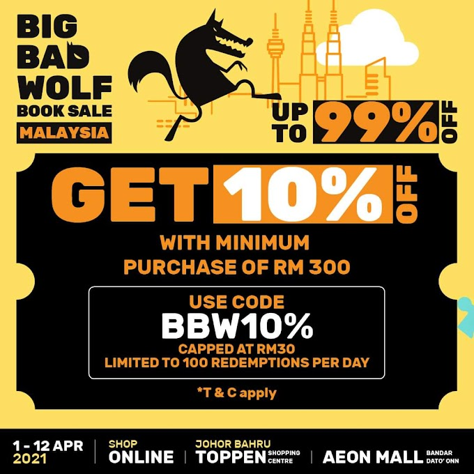 2021 BIG BAD WOLF (BBW) SALES DATANG LAGI