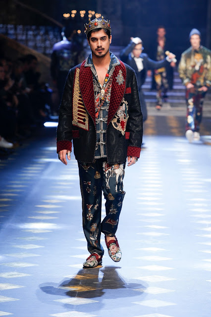 Avan Jogia Dolce & Gabbana Fall Winter