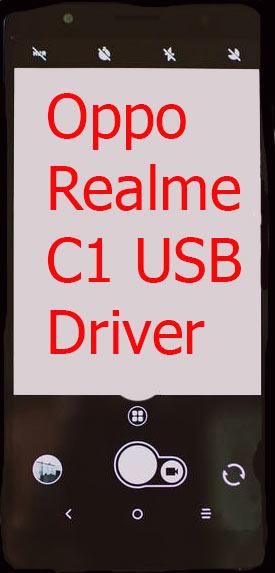 Oppo Realme C1 USB Driver Download