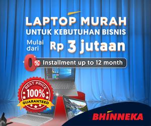 Laptop Murah Untuk Bisnis Cicilan 12 Bulan 0%