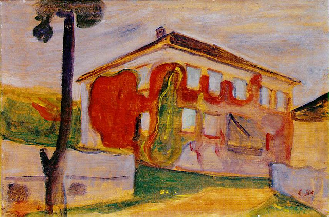 Эдвард Мунк - Красный плющ. 1900