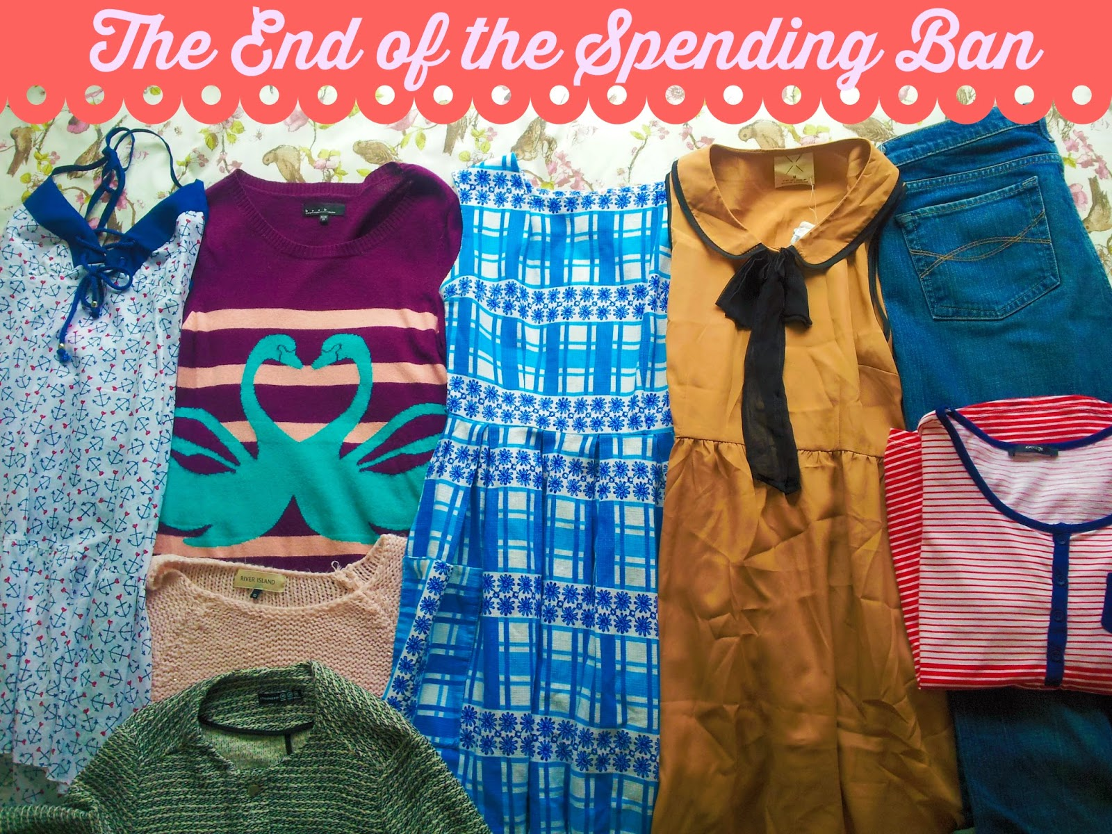 The Accidental Thrift #5 :: The End of the Spending Ban Clothing Haul