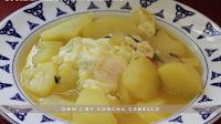 Patatas Guisadas con Huevo Cuajado