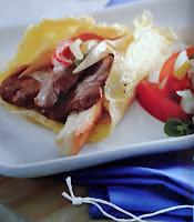 Gambar Resep Saute Daging Sapi Gulung Telur Dan Salad Tomat Pedas