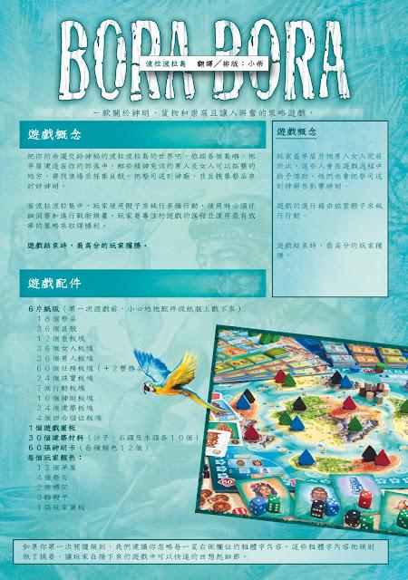 【介紹+規則】Bora Bora 波拉波拉島
