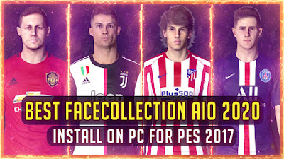 PES 2017 Best FaceCollection AIO 2020