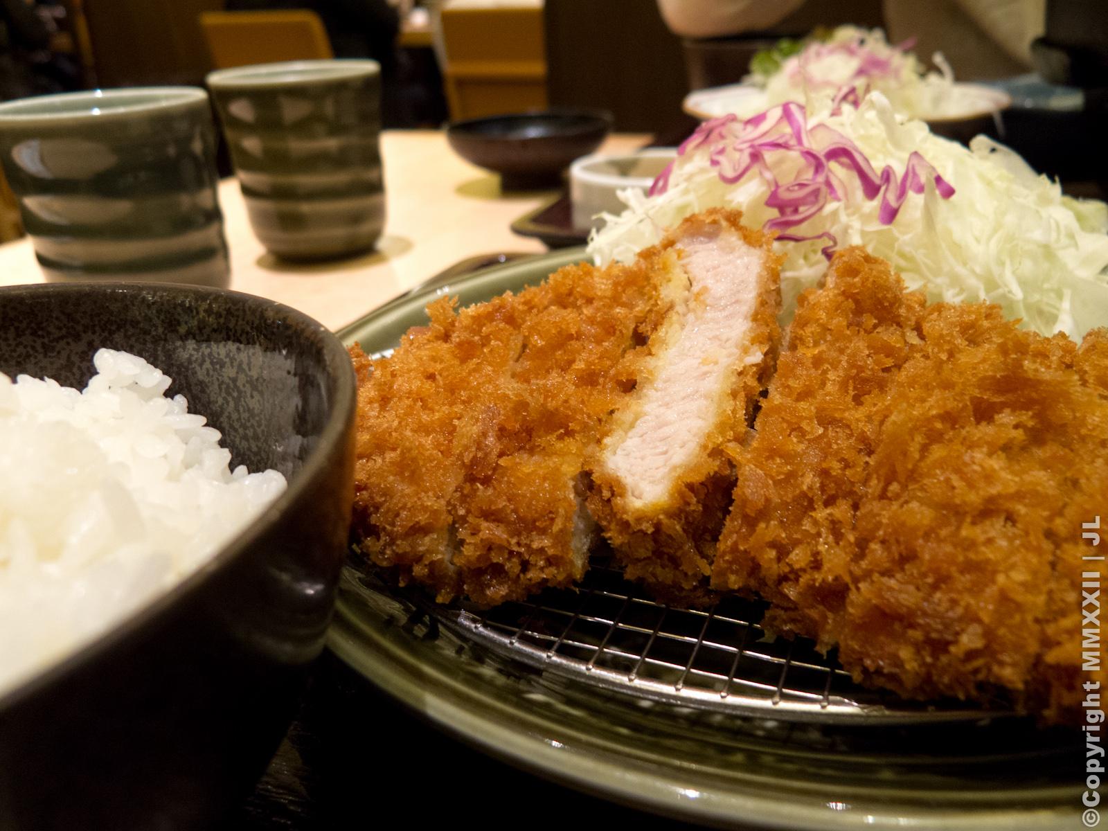 2012-10 日本北海道:D02-4 とんかつ工房 和幸 (炸豬排飯) - 莊記事‧遊