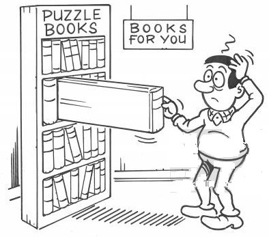 Download a big collection of puzzle books in one click
