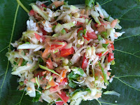 Bottle gourd, Carrot, Green gram sprouts, BSD