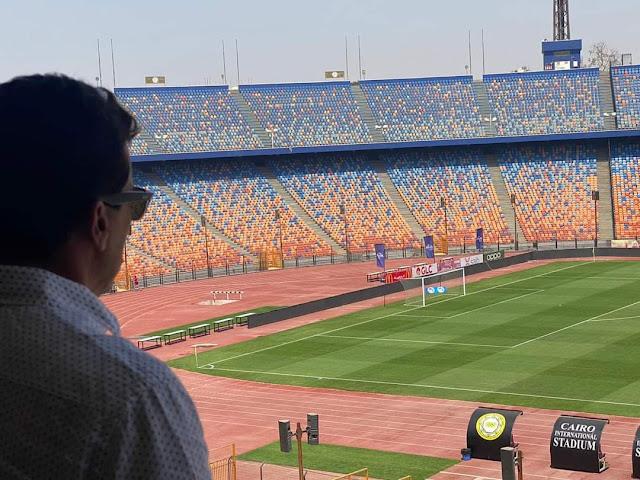 وزير الرياضة يتابع استعدادات إقامة نهائي بطولة إفريقيا بإستاد القاهرة 27 نوفمبر الجاري