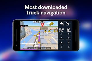 Sygic Truck GPS Navigation v20.0.2 build 2032 Final Mod Apk